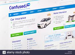 confused com car insurance quote confused car and home insurance comparison website or web page