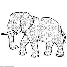 Elephant Coloring Pages Pdf Elephant Coloring Pages 8 Coloring Pages