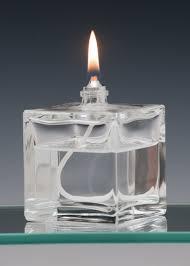 mini cube oil candle