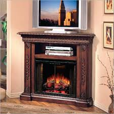 small electric fireplace tv stand corner on modern combo nice fireplaces small electric fireplace