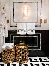 Marvelous Black White Gold Bathrooms Pinterest On Bathroom
