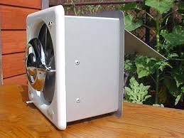 exterior wall mount exhaust fan. vintage nos ventrola kitchen exhaust fan exterior wall mount r