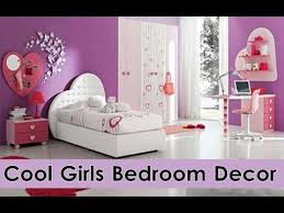 Cool Girls Bedroom Decorating Ideas Teen Girls Bedroom Decor YouTube