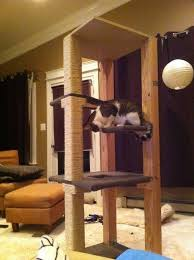diy cat tree my favorite so far mary baxter do you think we can do this