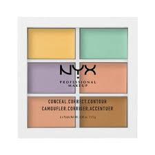 nyxnyx professional makeup color correcting palette walmart