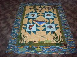 Quilts by Barb - News from Barb: Connie's Fishing Quilt & Connie's Fishing Quilt Adamdwight.com
