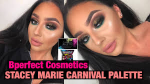 stacey marie bperfect cosmetics carnival palette makeup tutorial carla kent