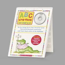 Scholastic Sc978439 Abc Singalong Flip Chart And Cd