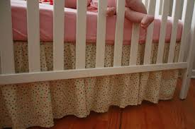 Crib Skirt Pattern Best The One With The Cupcakes The One With The Crib Skirt Tutorial