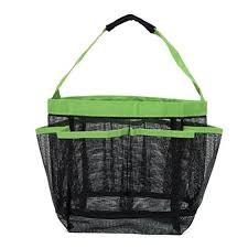 yiuswoy shower tote organizerbeach mesh totebeach bagsshower caddy with large pockets for gymcamptravelcollege dorm room