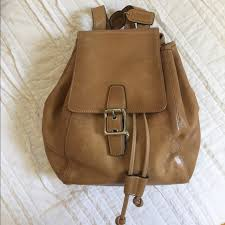 Vintage Coach Leather Backpack Style 9569