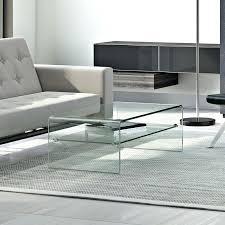 wayfair glass coffee table white black square