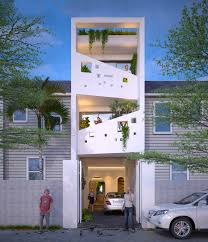 4 Storey House Design With Rooftop 50 Narrow Lot Houses That Transform A Skinny Exterior Into