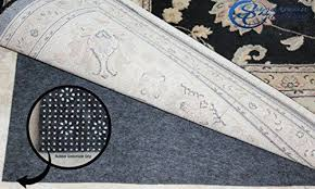 sugarman creations non slip rug pad 100 felt and rubber extra cushioned 8 x 10