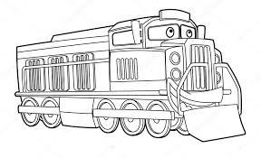 Kleurplaten Over Treinen