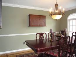 Perfect Dining Room Color Ideas With Chair Rai - Dining room color ideas with chair rail