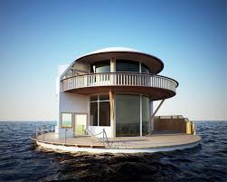 Floating House Plans Fascinating Design Of Floating Lake Homes With Boat And Terrace