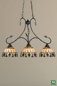 cool tiffany style island light patriot lighting belle island light with oil shale finish and
