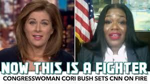 Cori Bush Sets CNN On Fire - YouTube