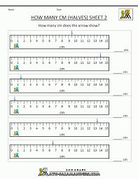 Kids : Worksheets Measuring And Estimating Lengths Grade Metric ...