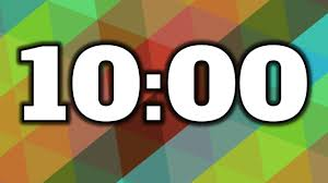 Set A Timer For 10 Minutes 10 Minute Timer