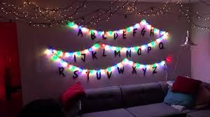 diy christmas lighting. Perfect Lighting DIY U201cStranger Thingsu201d Interactive Christmas Lights With Diy Lighting