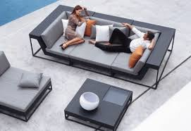 trendy outdoor furniture. dedon zofa modern outdoor and patio furniture trendy outdoor furniture t