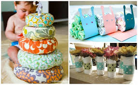 baby shower centerpieces that double as gifts