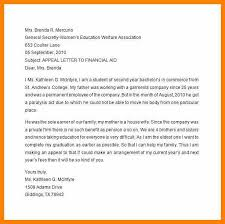 Writing An Appeal Letter Best Letter Of Appeal Collegetemplate Appeal Letter Sample For Financial
