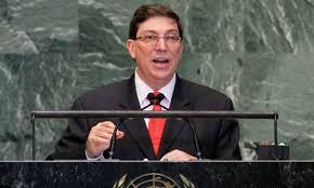 Canciller cubano en Nueva York para asistir a debate general en ONU