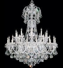 schonbek 6816 40s olde world 30 light silver swarovski elements crystal chandelier undefined