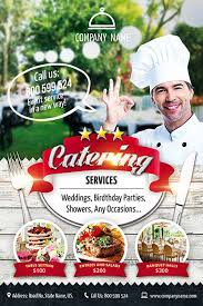 Catering Service Free Flyer Template Download Psd For Photoshop