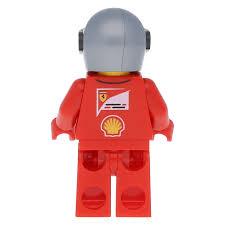 Lego Minifigure Sc012 Ferrari Race Car Driver 3 At Brickscout