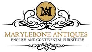 vintage furniture logo. Contemporary Vintage Marylebone Antiques Logo Cropped In Vintage Furniture R