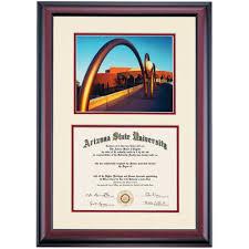arizona state premier grady gammage auditorium photograph diploma  arizona state premier grady gammage auditorium photograph diploma frame