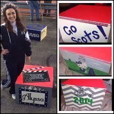 Cheer Box Designs Cheer Box High School Cheerleader Box Painting Ideas