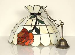 ceiling light lamp pendant hanging swag home stained glass in addition to 19