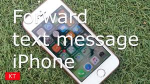 How Do You Forward A Text How To Forward A Text Message On Iphone 5 5s 6 6s 7 7s Youtube