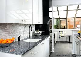 gray granite modern white cabinet kitchen glass tile farmhouse backsplash ideas