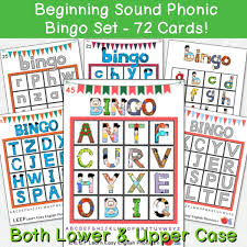 The symbols on this clickable chart represent the 44 sounds used in british english speech (received pronunciation). Beginning Sound Alphabet Phonic Bingo Set 72 Cards Easy Esl Shop