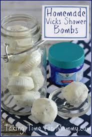 Vicks Shower Bomb Recipe -