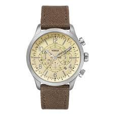 versus versace soho mens watch sgl03 chrono leather fabric sand versus versace soho reloj de hombre sgl03 chrono cuero de tela arena beige