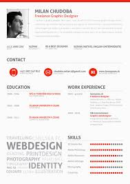 Designer Resume 13 Graphic And Web Designer Resume Template