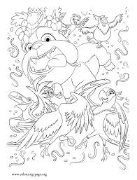 Small Picture Rio The Movie Characters of Rio movie coloring page