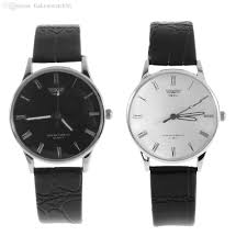 whole fashion r dial watch mens elegant leather black whole fashion r dial watch mens elegant leather black analog quartz sport wrist watch men wrist watches online wrist watches online shopping from