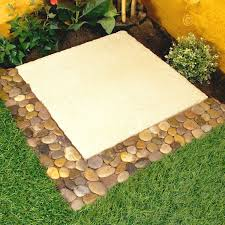 garden pavers for bed edging tips. Parkland Pack Of Pebble Border Stone Garden Plant Lawn Edging Strips Wall Tile Bathroom Amazoncouk U Outdoors With Flower Bed Pavers For Tips