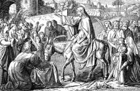 Image result for pictures of the lord's triumphal entry