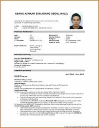 Resume Format Pdf Inspiration Resume Format Pdf Free Download Inspirational Resume Example Free