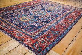 red and blue oriental rug roselawnlutheran rug red blue persian karaja
