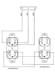 outlet wiring diagram outlet image wiring diagram duplex receptacle wiring diagram duplex wiring diagrams on outlet wiring diagram